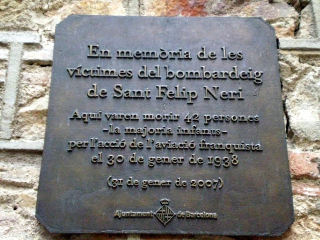 Resultado de imagen para plaza Sant Felip Neri en barcelona españa